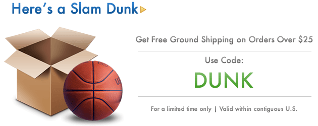 Hero Free Shipping on $25+ with code DUNK