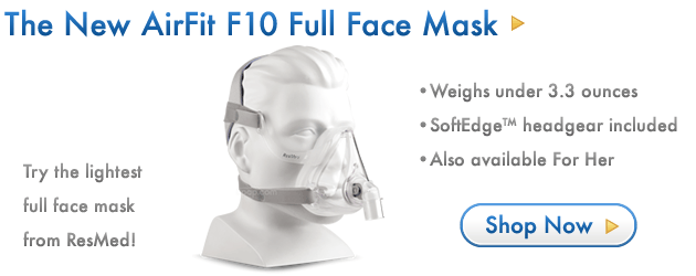 The New AirFit F10 Full Face Mask