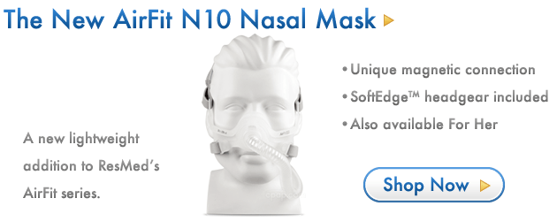 The New AirFit N10 Nasal Mask