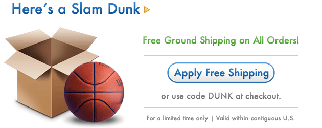 Hero Free Ground Shipping on All Orders with code DUNK
