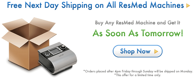 Hero ResMed Free Next Day Shipping 2012