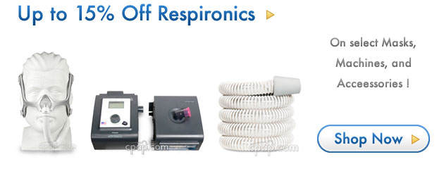 Up to 15% Off on Philips Respironics Products