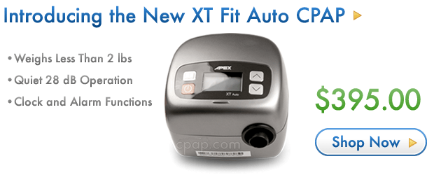 Introducing the New XT Auto CPAP